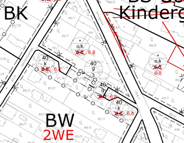 Flächenwidmung Kottingbrunn